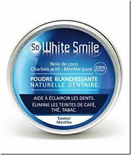 Whitepro -Blanchiment des dents poudre au charbon végétal coco actif naturel 60g