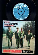 ABBA - Hootenanny Singers - Marianne + 3 EP 7 Inch Vinyl - SWEDEN