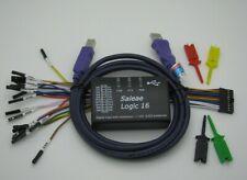 Mini Saleae 16 Logic Analyzer Usb 100m Max Sample Rate Support 1210 Software