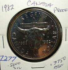 Silver Canada Proof Dollar 1982