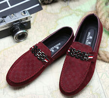 Men's Slip On Casual Driving Mocassins Loafer Walking Boat Shoes Flats UK Size