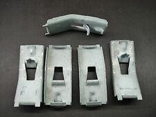 5 pcs 49-54 Dodge DeSoto Chrysler body side sill moulding clips NOS 1256010