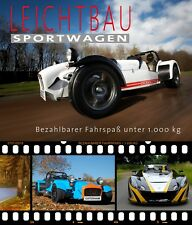 "Buch ""Leichtbausportwagen"" - Caterham Lotus Morgan X-Bow Ariel Atom Elise Seven"