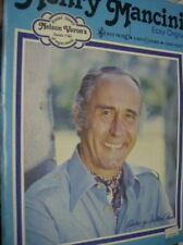Songs of Henry Mancini Easy Organ Music Book