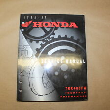Honda 1995-1999 TRX 400 FW Fourtrax Foreman Factory Service Manual Repair Book