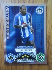 Match Attax 2009/10 i-card - Hugo Rodallega of Wigan Athletic