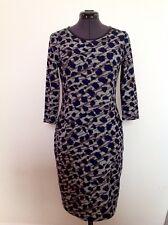 Women's Dress Grey/ Black /Blue Size 10