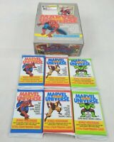 6 Sealed Packs - 1991 Impel Marvel Universe Series 2 Trading Cards