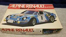 Vintage Bandi Motorized Alpine Renault A110 Rally Model Kit 1:20 Boxed Sealed