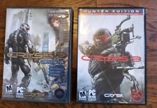 Lot of 2 games- Crysis 2 and Crysis 3 Hunter Edition (PC, 2013) COMPLETE 2 Disc