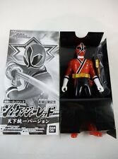 '09 Bandai Japan Sentai Hero Shinkenger Red Exclusive Power Rangers Ninja Storm