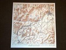 Cartina Gonnesa e Iglesias in Sardegna