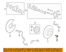 HONDA OEM Brake-Rear-Rotor Screw 93600060140H