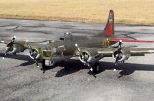 "B-17 FLYING FORTRESS 78/"" WS GIGANTE scala RC Aereo Stampato piani /& MODELLI"