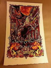 Widespread Panic New Orleans Halloween 2013 Aj Masthay Poster
