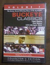 Ohio State Buckeye Classics Volume 1 Football Host Archie Griffin DVD 2001 NIP