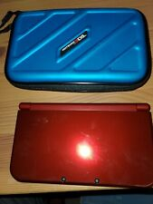"""Used """"new"""" Nintendo 3DS XL Handheld Red Gaming System, clean working and tested"""