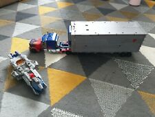 Transformers Dark of the Moon Ultimate Optimus Prime with Trailer and Cannon