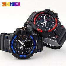 Skmei 01 Men S-SHOCK Military Quartz Watch Analog Digital Waterproof Wristwatch