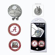 Team Golf University of Alabama Crimson Tide 2 Marker Cap Clip
