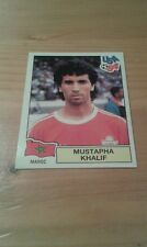 N°402 MUSTAPHA KHALIF # MAROC PANINI USA 94 WORLD CUP ORIGINAL 1994