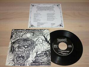"PURTENANCE 7"" SINGLE - Crown Waits The Immortal / 1991 SPAIN in MINT"