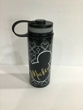 Disney Mickey Mouse Stainless Steel Insulated 17 oz Canteen Water Bottle New