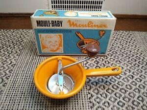 Vintage MOULI BABY Made in France Moulinex Food Grater homemade baby food