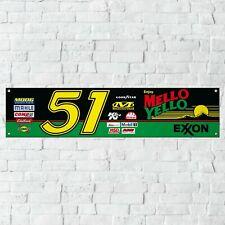 Mello Yello Banner Garage Workshop PVC Sign Days of Thunder NASCAR Track Display