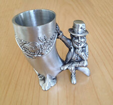 Mullingar Pewter Leprechaun Shot Measure Irish Made IRELAND