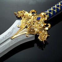 World of Warcraft King Stainless Steel Sword Delicacy 1:1 Prop Replica
