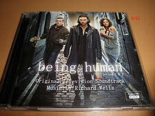 BEING HUMAN soundtrack CD bbc RICHARD WELLS tv series 1 & 2 score SILVA SCREEN