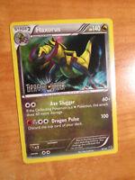 NM Pokemon HAXORUS Card DRAGON VAULT Set 16/20 Stamped Holo PROMO TCG