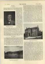1896 Egerton House John Watts Mr Marsh Park House Kings Clear Regret