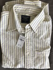 Abercrombie Men's Oxford Shirt Small NWT