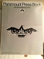Press book 3 DAYS OF THE CONDOR ROBERT REDFORD CLIFF ROBERTSON FAYE DUNAWAY