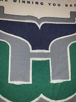 Vintage 90s Hartford Whalers Winning You Back Promo T Shirt NHL  Tee Men's XL