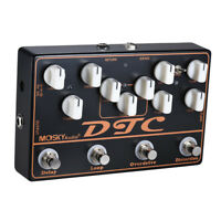 Multi Guitar Effects Pedal Delay Overdrive Distortion FX Loop Mosky 4 in 1 shell