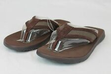 Ugg Australia Makohe Leather Flip Flops Thong Sandal Grizzly Size 9,10,11,12
