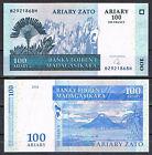 MADAGASCAR 100 ARIARY 2004 Pick 86 SC UNC