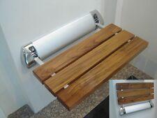 Amerec Steam Bath Generator Teak Wood Shower Seat for Steam Showers
