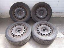 Acciaio Cerchioni Gomme Estive Audi a3 VW Golf 4 205 55 6,5x16 et42 1j0601027l/s 5x100