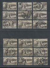 IRELAND 1930 POSTMARKS...18 STAMPS...2p SHANNON BARRAGE...Lot 2