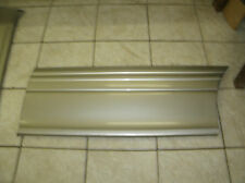 97-04 MONTANA LEFT REAR SLIDER DOOR LOWER MOULDING/ PEWTER