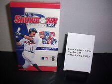 MLB Showdown 2000 ~ 2 Player Starter Set! Greg Maddux David Cone Foil MIB
