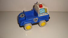 ANCIEN VEHICULE VINTAGE NO FISHER PRICE POLICE (10x7cm)