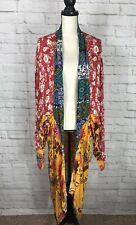 NEW Umgee Womens Floral Patchwork Kimono Size XL/1XL Plus Size