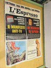 Valpreda Manifesto anti Tv Guerra del Vietnam Giscard D Estaing Ungheria di