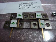 4 X 50 Ohm Flanged Dummy Load  Rf/Microwave AEROFLEX/KDI A3RRC4 150W 3GHz