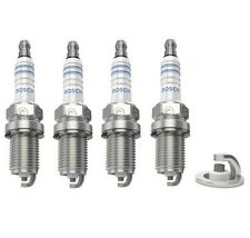 Spark Plugs x 4 Bosch Super Plus Fits Honda Civic Accord CR-V HR-V Shuttle Logo